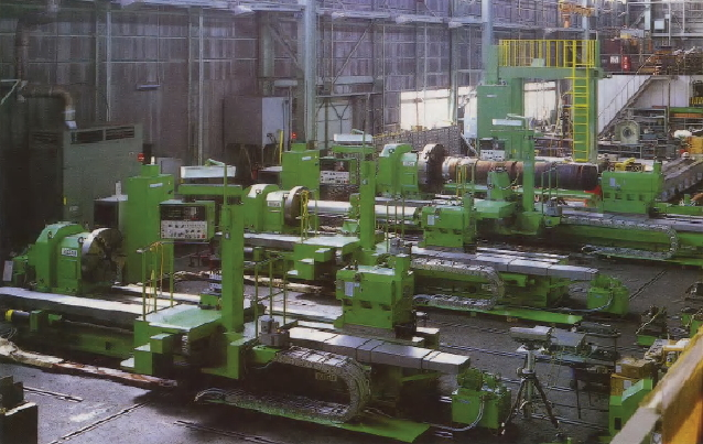 Assembly Factory for Large Size CNC Lathe